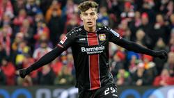 Kai Havertz hat noch viel mit Bayer Leverkusen vor