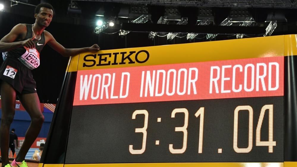 Samuel Tefera hat einen neuen Weltrekord aufgestellt