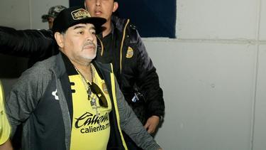 Diego Maradona steht bei Dorados de Sinaloa vor dem Abschied