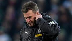 Dieter Hecking musste zuletzt mehrere Niederlagen verdauen