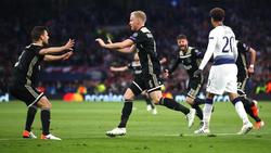 El Ajax se ha impuesto por la mínima en la nueva casa de los Spurs. (Foto: Getty)