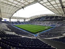 Blick ins Estádio do Dragão