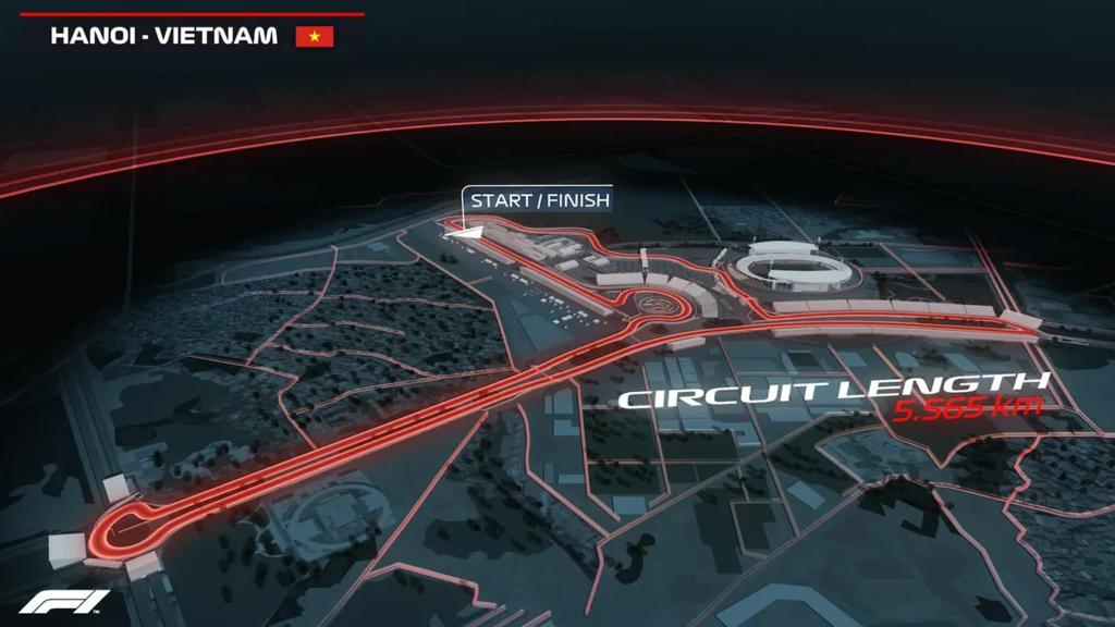 Ab 2020 findet in Hanoi ein Formel-1-Rennen statt