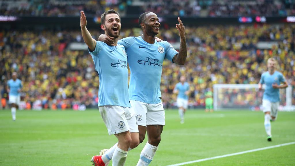 Manchester City erzielte sechs Tore gegen den FC Watford