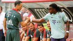 Renato Sanches soll sich beim FC Bayern durchbeißen