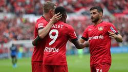 Bayer Leverkusen setzte sich gegen den SC Paderborn durch