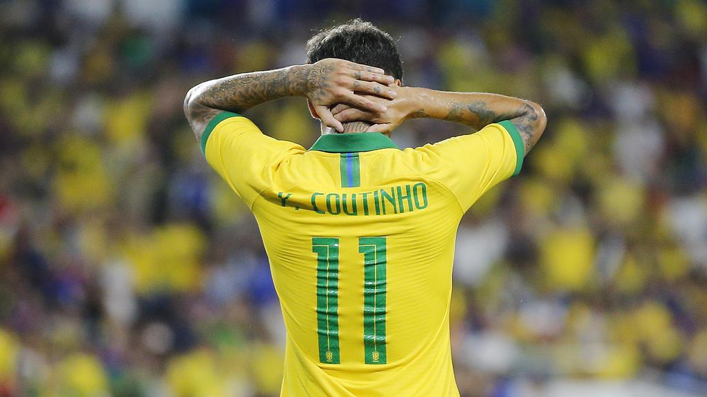 Coutinho spielt mit Brasilien in Singapur
