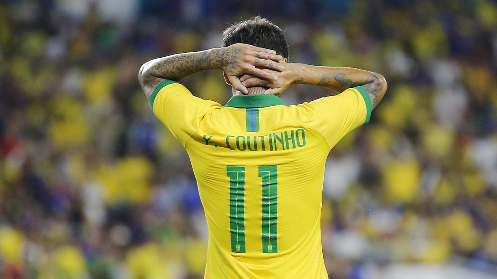 Philippe Coutinho konnte wenig Akzente setzen