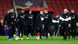 Eintracht Frankfurt muss beim FC Arsenal bestehen