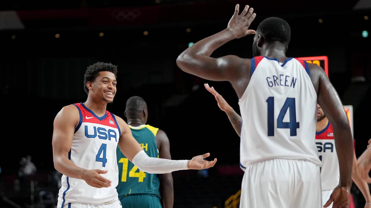 Die US-Basketballer stehen im Olympia-Finale