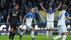 Der 1. FC Magdeburg stürmt mit einem Kantersieg zurück an die Ligaspitze
