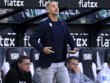 Gladbach-Coach Adi Hütter sieht den FC Bayern in der Favoritenrolle