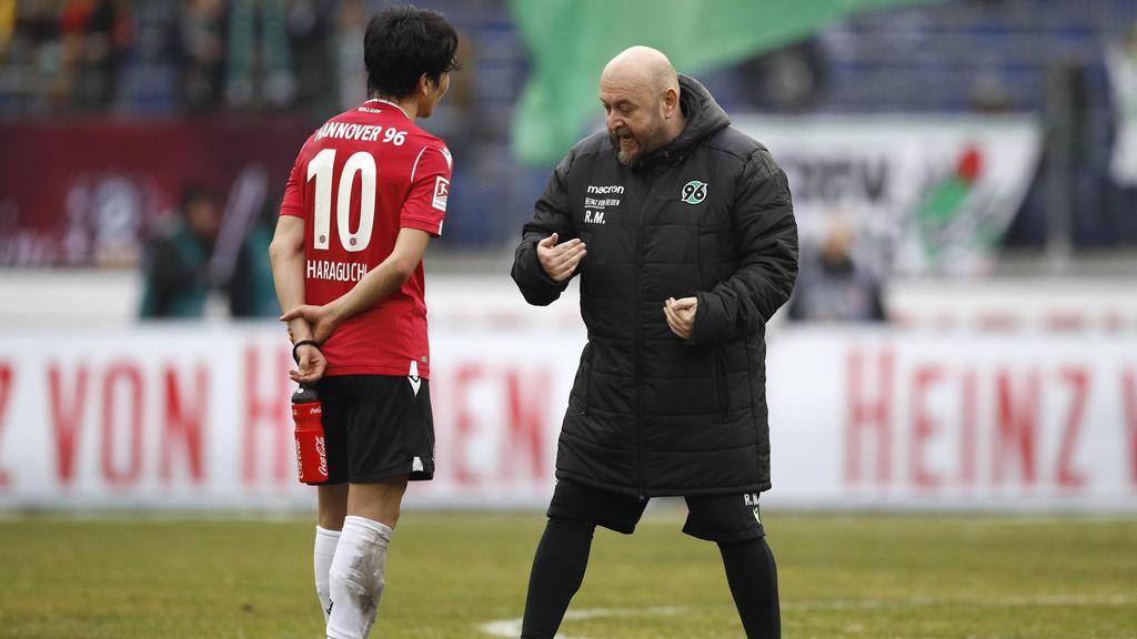 Bei Hannover 96 gab es nach dem 2:2 gegen Wiesbaden Gesprächsbedarf