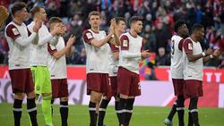 El conjunto bávaro lució una camiseta conmemorativa.