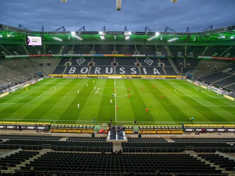 Blick in den Borussia-Park