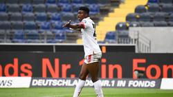 Erlebte eine Schrecksekunde gegen den FC Augsburg: Taiwo Awoniyi vom 1. FSV Mainz 05