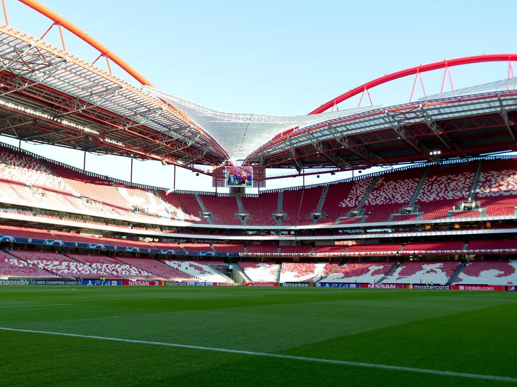 Blick ins Estádio da Luz in Lissabon