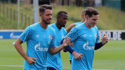 Mark Uth (l.) und Sebastian Rudy (r.) könnten beim FC Schalke 04 bleiben