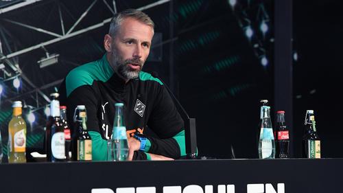Gladbach-Trainer Rose verlor mit seinem Team gegen den BVB