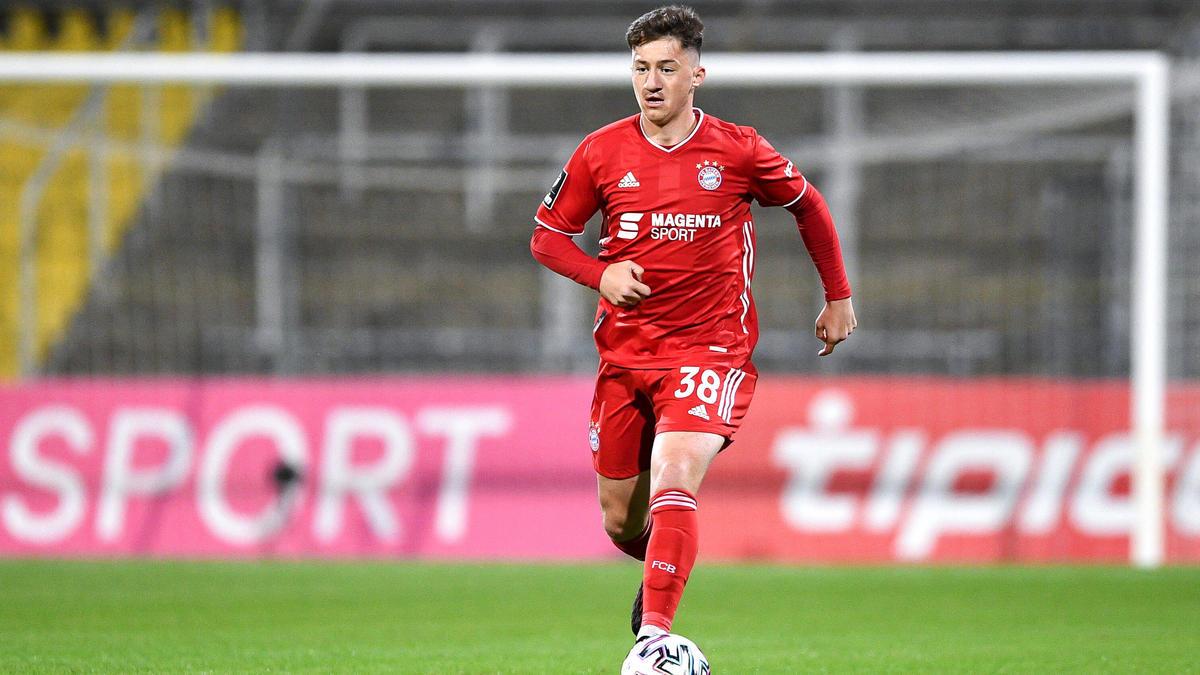 Angelo Stiller vom FC Bayern soll in England begehrt sein
