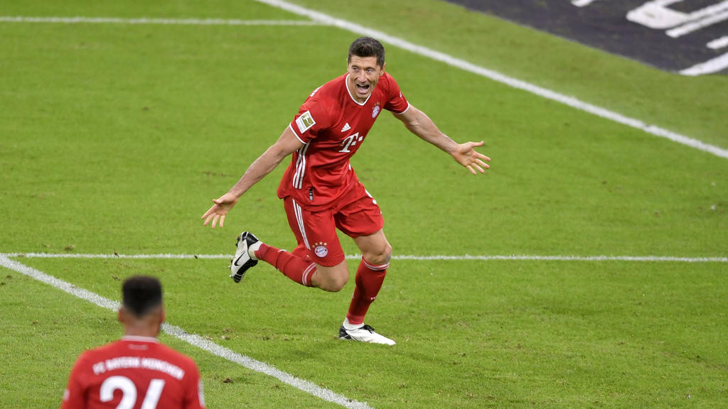 Lewandowski traf doppelt in Bielefeld