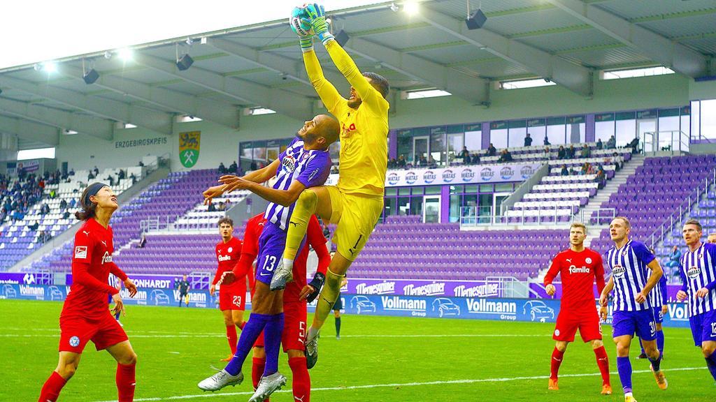 Holstein Kiel erkämpfte sich einen Punkt in Aue