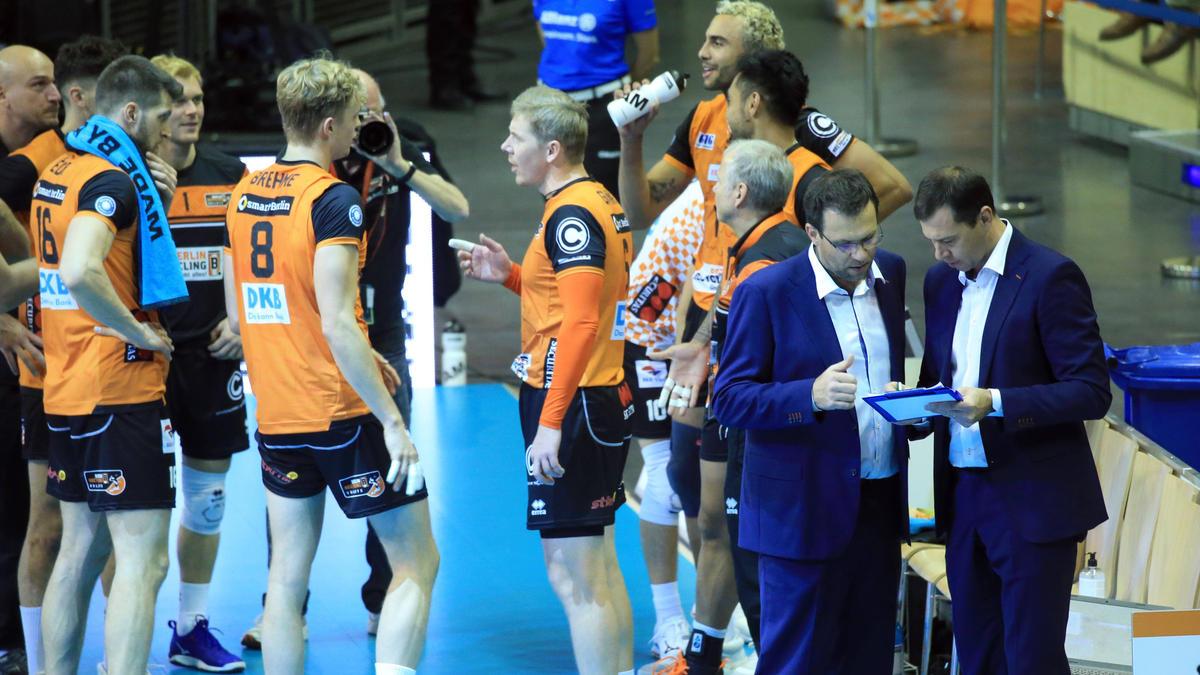 Die BR Volleys verloren am Samstag 1:3