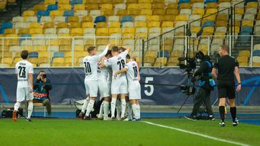 Borussia Mönchengladbach hat Donezk 6:0 bezwungen