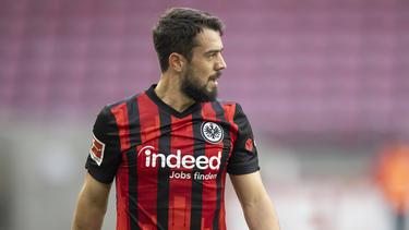 Amin Younes spielt für Eintracht Frankfurt