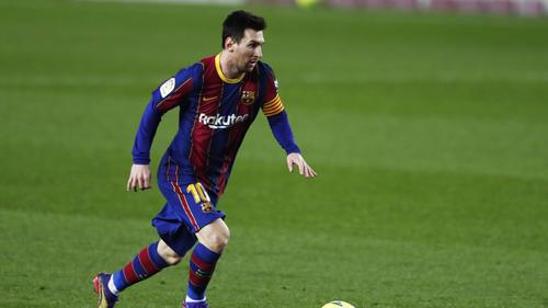 Lionel Messi ist der Superstar beim FC Barcelona