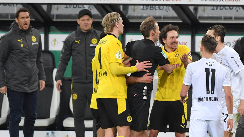 Wirbel nach Gladbach vs. BVB im DFB-Pokal