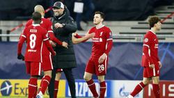 Jürgen Klopp und der FC Liverpool stehen im Viertelfinale