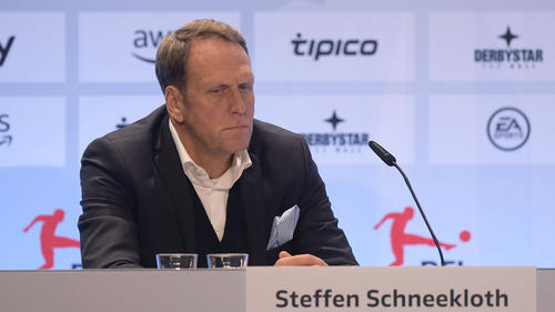 Steffen Schneekloth hofft auf ein reguläres Ende der laufenden Zweitliga-Saison