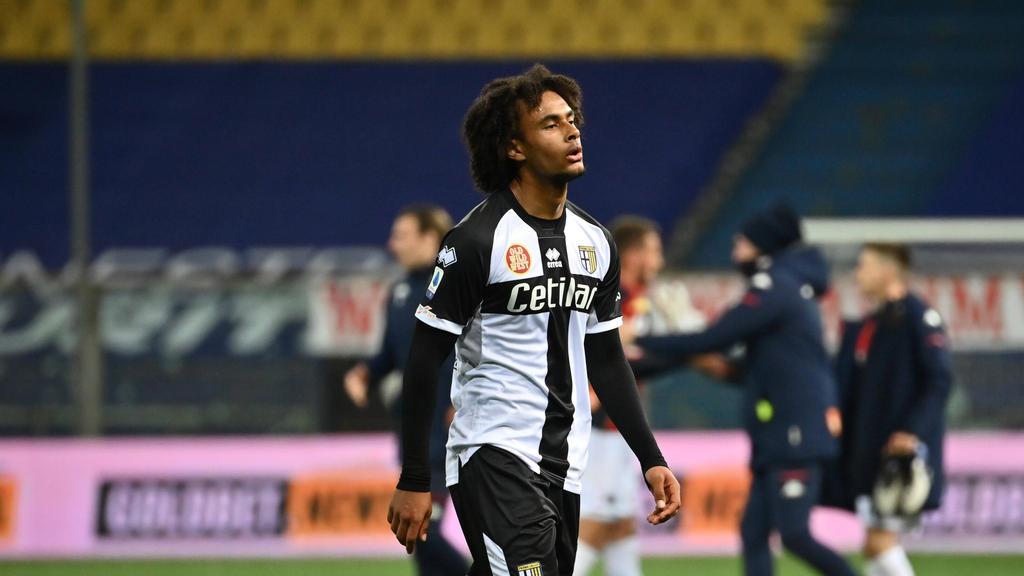 Joshua Zirkzee ist vom FC Bayern nach Parma ausgeliehen