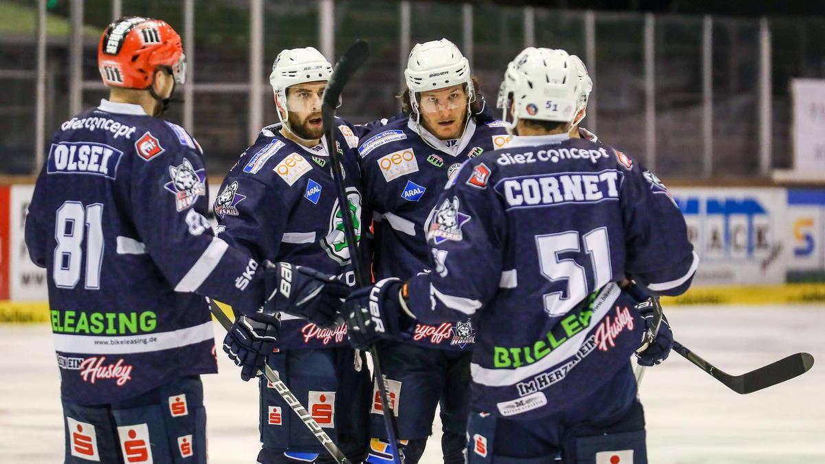 Die Kassel Huskies ziehen ins Playoff-Finale ein