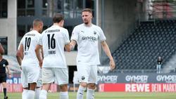 Der SV Sandhausen feierte einen Sieg im Tabellenkeller