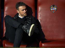 Luis Enrique zeigt sich beim Gastspiel bei Levante sehr entspannt