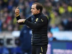 Will in seiner Startelf nicht groß rotieren: BVB-Coach Thomas Tuchel