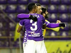 Mojica también ha defendido la camiseta del Real Valladolid. (Foto: Imago)