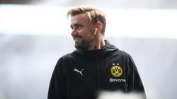 Marcel Schmelzer trainiert wieder mit Ball am Fuß