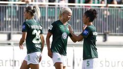 Der VfL Wolfsburg setzte sich gegen den SC Freiburg durch