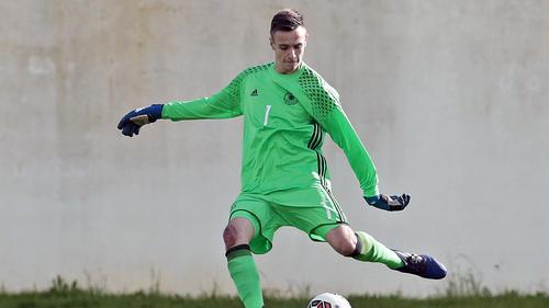 Christian Früchtl vom FC Bayern leistete sich einen folgenschweren Patzer