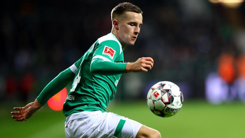 Johannes Eggestein verlängert bei Werder Bremen
