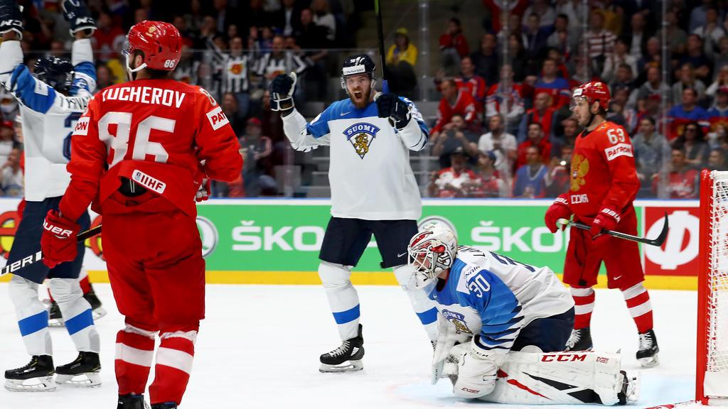Finnland hat Favorit Russland bezwungen
