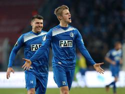Sebastian Ernst (r.) wechselt zu den Würzburger Kickers