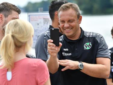 H96-Coach André Breitenreiter konnte zufrieden sein