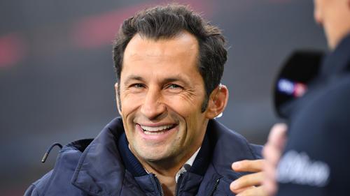 Zeigte sich am Freitagabend sichtlich erleichtert: Sportdirektor Hasan Salihamidzic vom FC Bayern