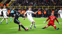 Deutschland belohnte sich nicht für eine starke erste Hälfte