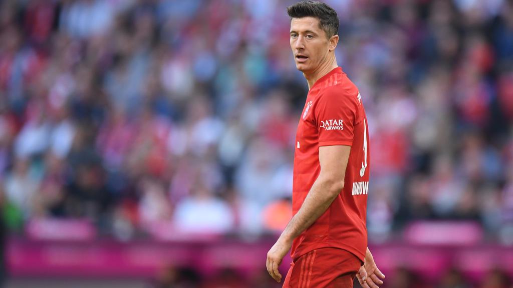 Muss unters Messer: Robert Lewandowski vom FC Bayern