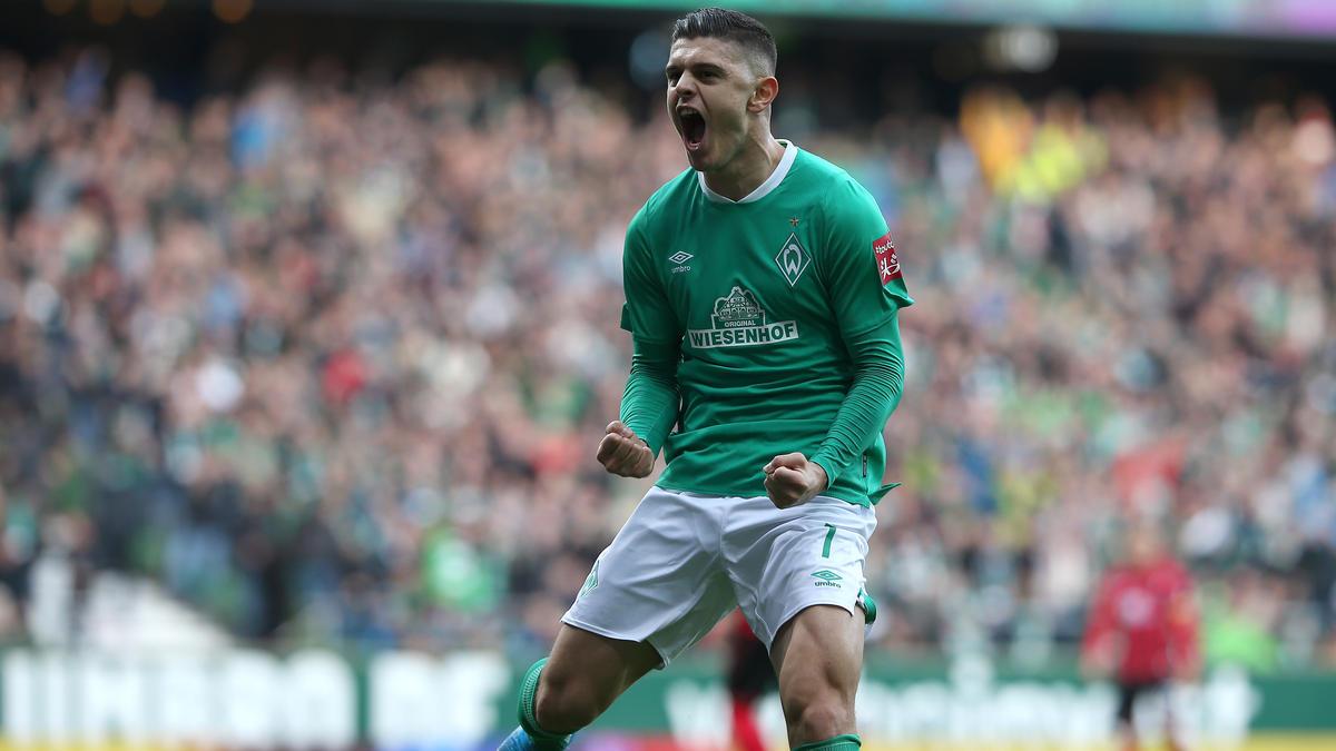 Milot Rashica von Werder Bremen traf in der laufenden Saison bereits viermal